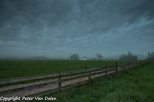 Fence Line by Peter Van Dalen, Open Image of the Night, Feb 2014