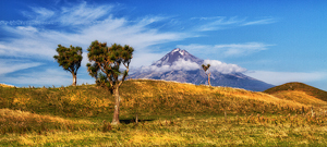 Mt Taranaki by Margaret Penney, Set Image of the Night, Jul 2014