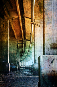 Under Harbour Bridge by Roy Cernohorsky, Set Image of the Night, Sep 2013